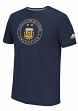 "Argentina National Team Adidas ""Global Ball"" Men's Performance T-Shirt - Navy"