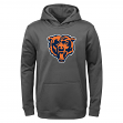 """Chicago Bears Youth NFL """"Tackle"""" Performance Pullover Hooded Sweatshirt"""