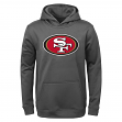 "San Francisco 49ers Youth NFL ""Tackle"" Performance Pullover Hooded Sweatshirt"