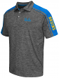 "UCLA Bruins NCAA Men's ""Birdie"" Short Sleeve Polo Shirt - Charcoal"