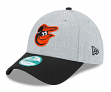 "Baltimore Orioles New Era 9Forty MLB ""The League Heather"" Adjustable Hat"
