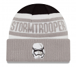"Stormtrooper VII Star Wars New Era ""Biggest Fan 2.0"" Cuffed Knit Hat"