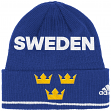 Team Sweden 2016 World Cup of Hockey Adidas Cuffed Knit Beanie