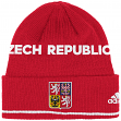 Team Czech Republic 2016 World Cup of Hockey Adidas Cuffed Knit Beanie