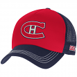 "Montreal Canadiens CCM NHL ""Trucker"" Structured Adjustable Mesh Back Hat"