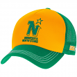"Minnesota North Stars CCM NHL ""Trucker"" Structured Adjustable Mesh Back Hat"