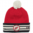 "Detroit Red Wings CCM NHL ""Watch"" Cuffed Knit Hat with Pom"