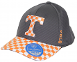 "Tennessee Volunteers TOW ""Booster Plus"" Memory Fit Flex Hat - Checkerboard Visor"