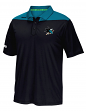 "San Jose Sharks Reebok NHL 2016 Center Ice ""Statement"" Speedwick Polo Shirt"