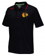 "Chicago Blackhawks Reebok NHL 2016 Center Ice ""Travel"" Speedwick Polo Shirt"