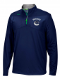 Vancouver Canucks Reebok NHL 2016 Center Ice Speedwick 1/4 Zip Sweatshirt