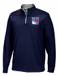 New York Rangers Reebok NHL 2016 Center Ice Speedwick 1/4 Zip Sweatshirt