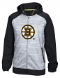 Boston Bruins Reebok NHL 2016 Center Ice Speedwick Full Zip Sweatshirt