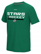 Dallas Stars Reebok NHL 2016 Center Ice Locker Room S/S Men's Shirt