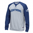 "Tampa Bay Lightning Reebok NHL ""Offsides"" Long Sleeve Raglan Crew Shirt"