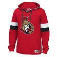 "Ottawa Senators Reebok NHL Men's ""Jersey"" Pullover Hooded Sweatshirt"