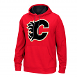"Calgary Flames Reebok NHL Men's ""The Playbook"" Pullover Hooded Sweatshirt"