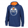 "Edmonton Oilers Reebok NHL Men's ""The Playbook"" Pullover Hooded Sweatshirt"
