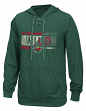"Minnesota Wild Reebok NHL Men's ""Freeze Stripe"" Pullover Hooded Sweatshirt"