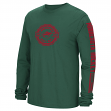 "Minnesota Wild Reebok NHL ""Icon"" Long Sleeve Men's T-Shirt"