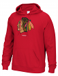 "Chicago Blackhawks Reebok NHL Men's ""Team Crest"" Pullover Hooded Sweatshirt"