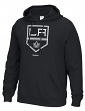 "Los Angeles Kings Reebok NHL Men's ""Team Crest"" Pullover Hooded Sweatshirt"