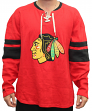 "Chicago Blackhawks CCM NHL ""Drop the Puck"" Men's Jersey Crew Sweatshirt"