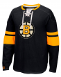 "Boston Bruins CCM NHL ""Drop the Puck"" Men's Jersey Crew Sweatshirt"