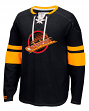 "Vancouver Canucks CCM NHL ""Drop the Puck"" Men's Jersey Crew Sweatshirt"