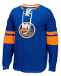 "New York Islanders CCM NHL ""Drop the Puck"" Men's Jersey Crew Sweatshirt"