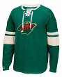 "Minnesota Wild CCM NHL ""Drop the Puck"" Men's Jersey Crew Sweatshirt"