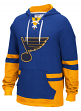 "St. Louis Blues CCM NHL ""Hit the Boards"" Men's Vintage Jersey Sweatshirt"