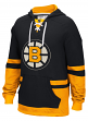 "Boston Bruins CCM NHL ""Hit the Boards"" Men's Vintage Jersey Sweatshirt"