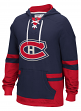 "Montreal Canadiens CCM NHL ""Hit the Boards"" Men's Vintage Jersey Sweatshirt"
