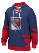 "New York Rangers CCM NHL ""Hit the Boards"" Men's Vintage Jersey Sweatshirt"