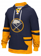 "Buffalo Sabres CCM NHL ""Hit the Boards"" Men's Vintage Jersey Sweatshirt"