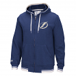 "Tampa Bay Lightning CCM NHL ""Hit the Post"" Men's Full Zip Hooded Sweatshirt"