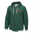 "Minnesota Wild CCM NHL ""Hit the Post"" Men's Full Zip Hooded Sweatshirt"