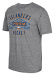 "New York Islanders CCM NHL ""Woodwork"" Tri-Blend Men's Short Sleeve T-Shirt"