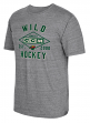 "Minnesota Wild CCM NHL ""Woodwork"" Tri-Blend Men's Short Sleeve T-Shirt"