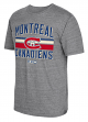 "Montreal Canadiens CCM NHL ""Classic Stripe"" Tri-Blend Men's Short Sleeve T-Shirt"