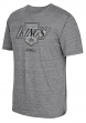 "Los Angeles Kings CCM ""Retro Logo Alternate"" Distressed Tri-Blend Gray T-Shirt"