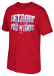 "Detroit Red Wings Reebok NHL ""Icy Octopus"" Men's Short Sleeve T-Shirt - Red"