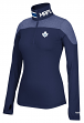Toronto Maple Leafs Women's NHL Reebok 1/4 Zip Performance Pullover Jacket