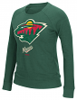 Minnesota Wild Women's NHL Reebok French Terry Pullover Crew Sweatshirt