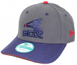 "Chicago White Sox New Era 9Forty Cooperstown ""Classic"" Adjustable Hat - Graphite"