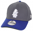 "Chicago Cubs New Era MLB 39THIRTY Cooperstown ""Classic"" Flex Fit Hat - Graphite"