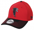 "Atlanta Falcons New Era NFL 39THIRTY ""Historic"" Throwback Flex Fit Hat - 2 Tone"