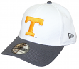 Tennessee Volunteers New Era NCAA 39THIRTY Performance Flex Fit Hat - White