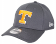 Tennessee Volunteers New Era NCAA 39THIRTY Performance Flex Fit Hat - Graphite